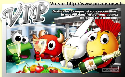 Ticket VIP Argent PRIZEE